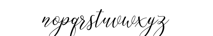 Katlyne Font LOWERCASE