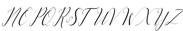 KatrinaScriptSlant Font UPPERCASE