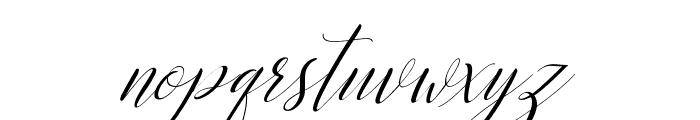KatrinaScriptSlant Font LOWERCASE