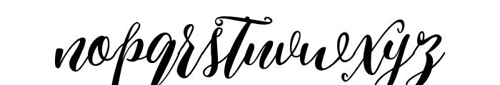 Kimberly Regular Font LOWERCASE