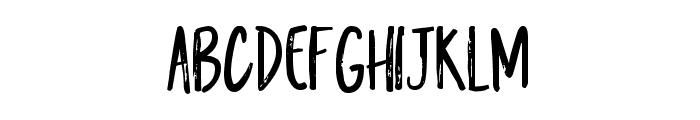 Kiwi Refresher Marker Font LOWERCASE