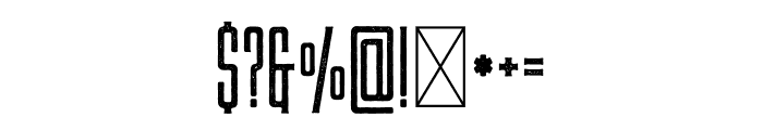LAS VALLES Textured Vintage Font OTHER CHARS