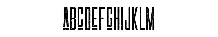 LAS VALLES Textured Font LOWERCASE
