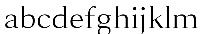Lara-Book Font LOWERCASE