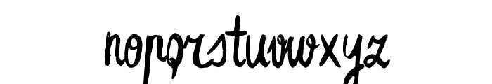 Leafy Extended Font LOWERCASE