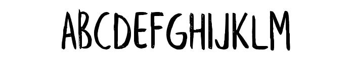 LeafyExtended Font UPPERCASE