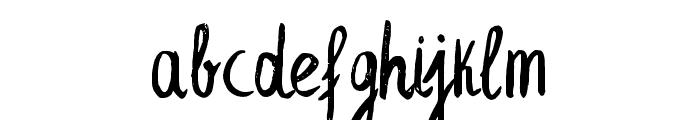 LeafyExtended Font LOWERCASE