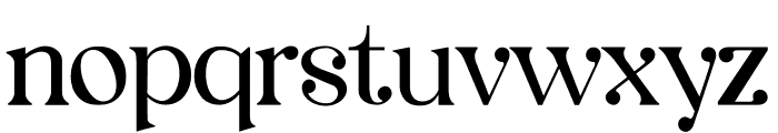Legalitere Font LOWERCASE