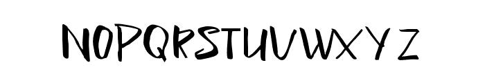Lightening Sans Font LOWERCASE