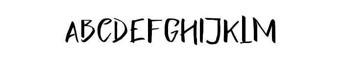 LighteningSans Font UPPERCASE