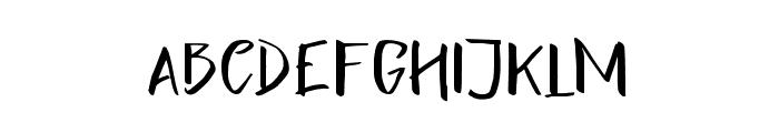 LighteningSans Font LOWERCASE