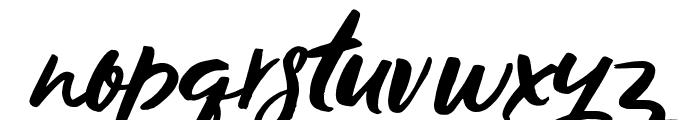 Los Banditos ALT2 Script ALT2 Font LOWERCASE