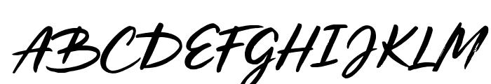Los Banditos Alt1 Script Alt1 Font UPPERCASE