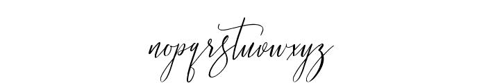 Love Rosnita Font LOWERCASE