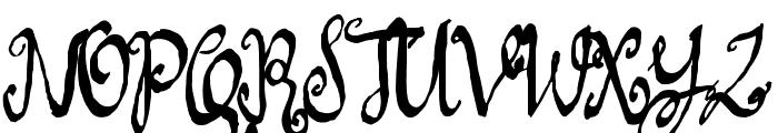 LoveMileScriptLeftSwashes Font UPPERCASE