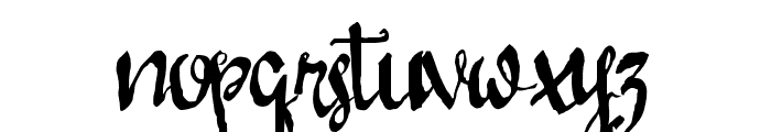 LoveMileScript Font LOWERCASE