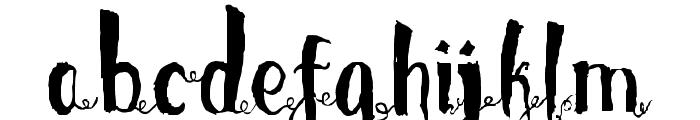 LoveMileSwashes Font LOWERCASE