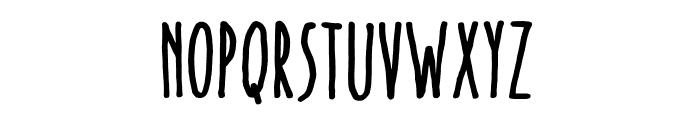 Lovely Font UPPERCASE