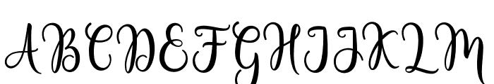 LovelyValentineScript Font UPPERCASE