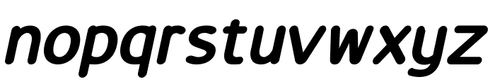 LucyRounded Bold Italic Font LOWERCASE