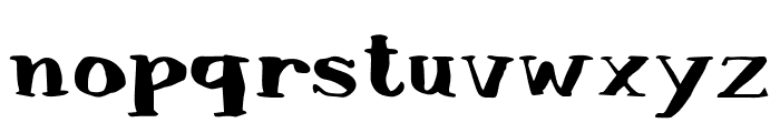 Lullaby Blues Font LOWERCASE