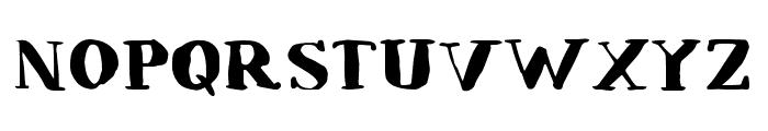 LullabyBlues Font UPPERCASE