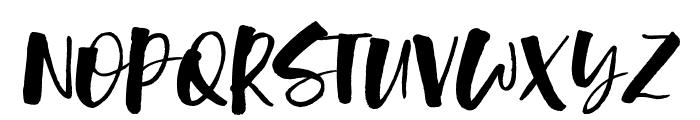 Lunar Blossom Font UPPERCASE
