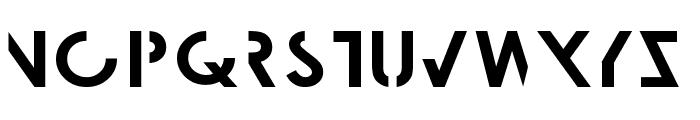 Lunar Eclipse Font LOWERCASE