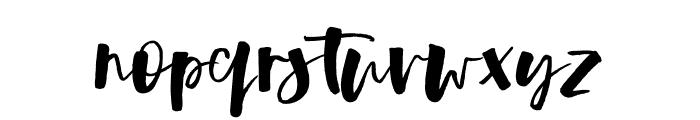 LunarBlossomAlt Font LOWERCASE