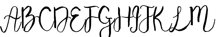 Majestic Font UPPERCASE