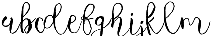 Majestic Font LOWERCASE