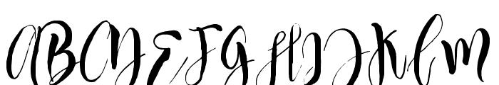 Manhattan-Regular Font UPPERCASE