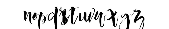 Manhattan-Regular Font LOWERCASE