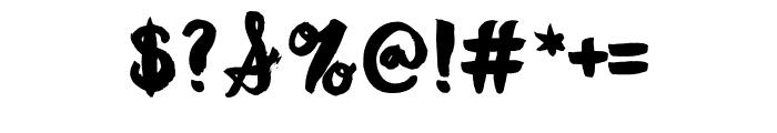 ManhattanDarling-Regular Font OTHER CHARS