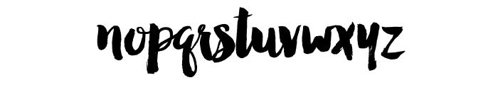 ManhattanDarling-Regular Font LOWERCASE