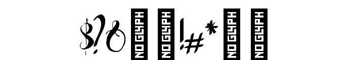 ManhattanSans-Regular Font OTHER CHARS