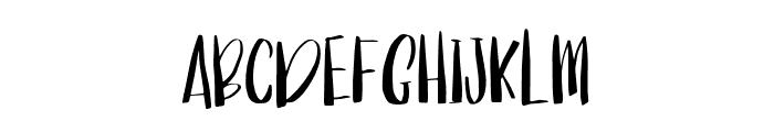 ManhattanSans-Regular Font LOWERCASE