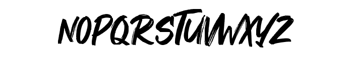 Maquire Font LOWERCASE