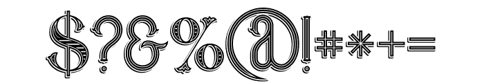 Marin Victorian Font OTHER CHARS