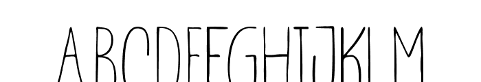 Marsya Font Duo Font LOWERCASE