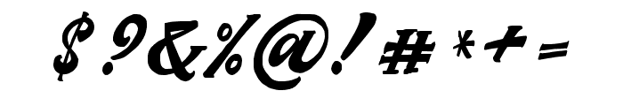 Matchstic Script Font OTHER CHARS