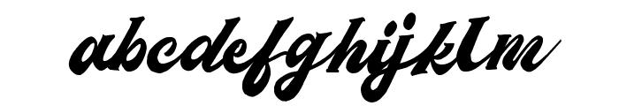 Matchstic Script Font LOWERCASE