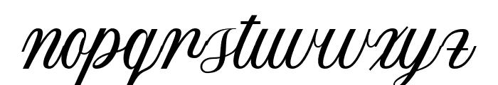 Melissa Script Regular Font LOWERCASE
