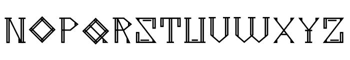Metropolia Bold Font UPPERCASE