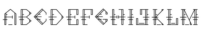 Metropolia Semibold Font LOWERCASE