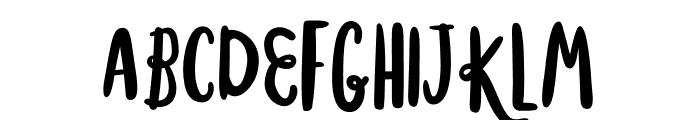MisterRooster-Regular Font UPPERCASE
