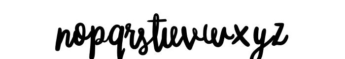 MisterRooster-Regular Font LOWERCASE