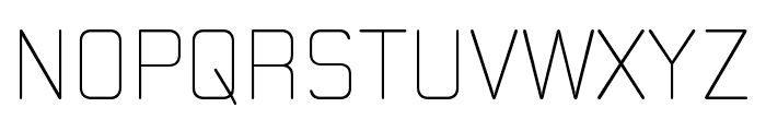 Moldr-ExtraLight Font UPPERCASE
