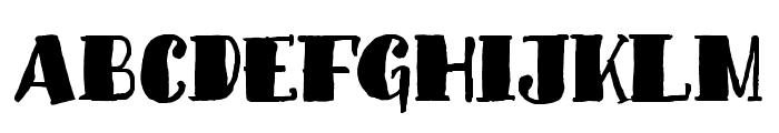 MonkeySausageFont Font UPPERCASE
