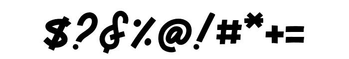 Monserta Script Regular Font OTHER CHARS